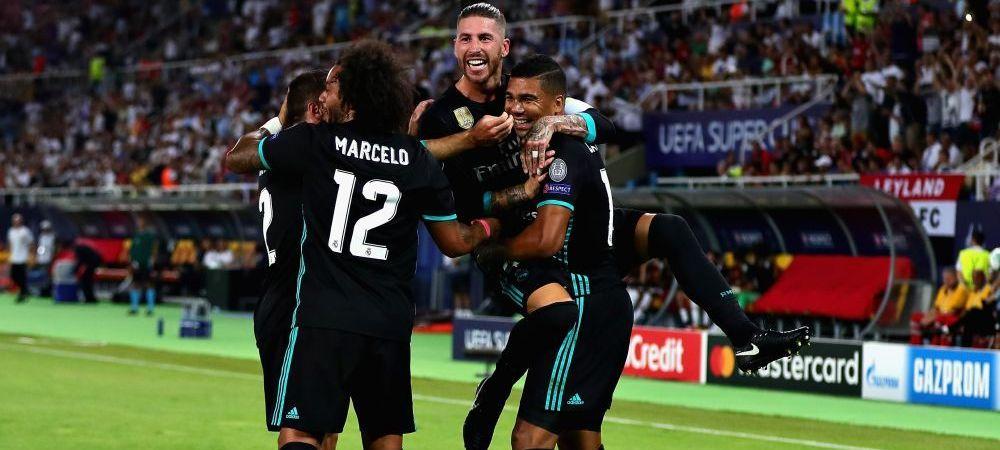 THE SPECIAL ZIDANE! Golurile lui Casemiro si Isco duc Supercupa Europei la Madrid, al 6-lea trofeu in 2 ani pentru Zidane! REAL MADRID 2-1 MAN UNITED! Vezi toate fazele VIDEO