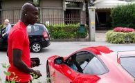 Fast and furious! Balotelli, prins de politia italiana cu 200 km/h. Ce decizie a luat politistul care l-a oprit