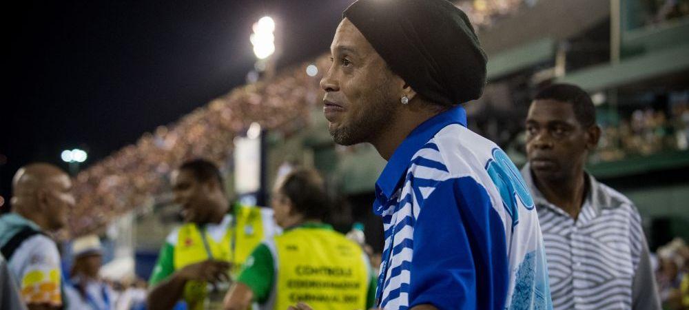 Ronaldinho e dispus sa joace din nou! Ce conditie IMPOSIBILA pune brazilianul