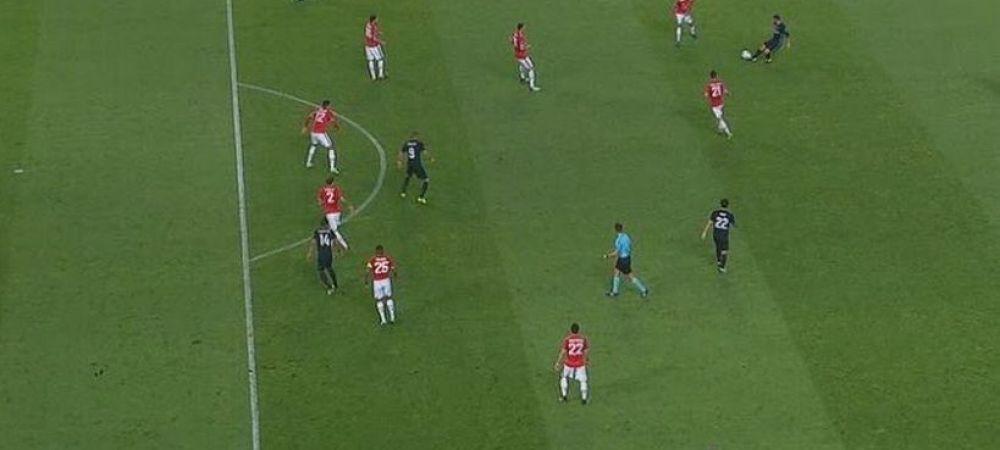 La televiziunea din Spania se intampla lucruri ciudate :)) Cum a incercat un jurnalist sa explice ca nu a fost off-side la golul lui Casemiro! FOTO