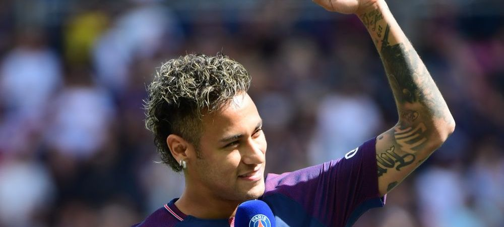 Neymar i-a lasat masca pe cei de la PSG la primul antrenament! Cum a marcat jucatorul de 222 mil €! VIDEO