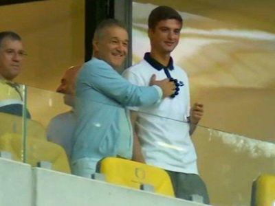 """Capitaneee! Uite, tata, achizitiile!"" Moment incredibil cu Gigi Becali inainte de Steaua - CSM Iasi! Ce a raspuns Alibec"
