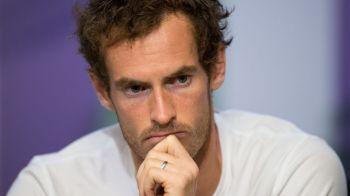Murray nu merge la Cincinnati si pierde locul 1 ATP! Cine il poate detrona pe scotian