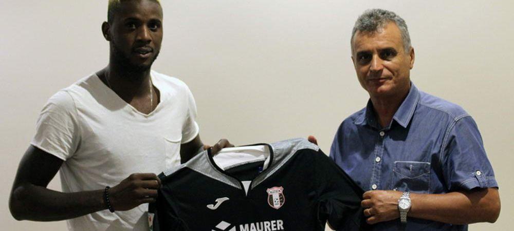 Astra a facut un transfer inaintea partidei cu Steaua! Camerunez de nationala pentru Iordanescu Jr.