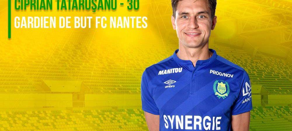 Tatarusanu se pregateste de duelurile cu superstarurile din Franta! E in lotul lui Nantes pentru prima data