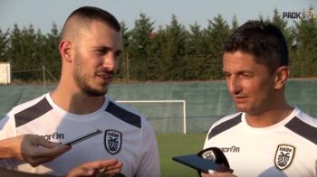 Razvan Lucescu a luat un fost stelist la PAOK. Primul om convins de acesta sa mearga la Salonic si primul interviu