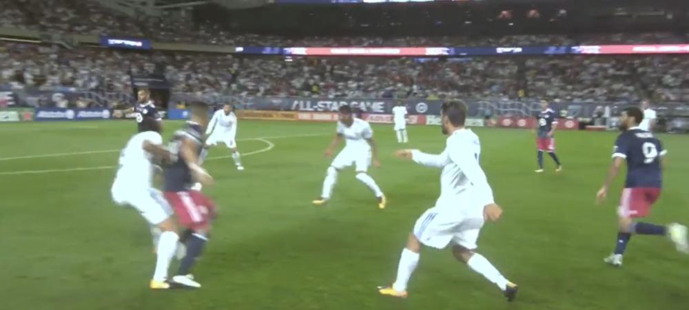 Cum arata meciul de fotbal prin ochii unui arbitru! Marcelo si Bale, arbitrati cu Ref Cam! VIDEO GENIAL