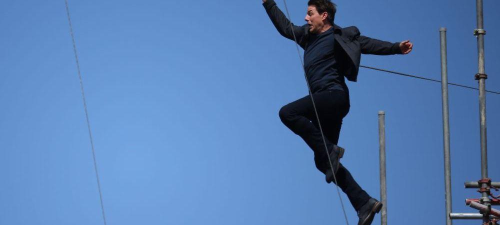 Momentul in care Tom Cruise s-a accidentat! Cascadorie incredibila incercata in timpul filmarilor. VIDEO