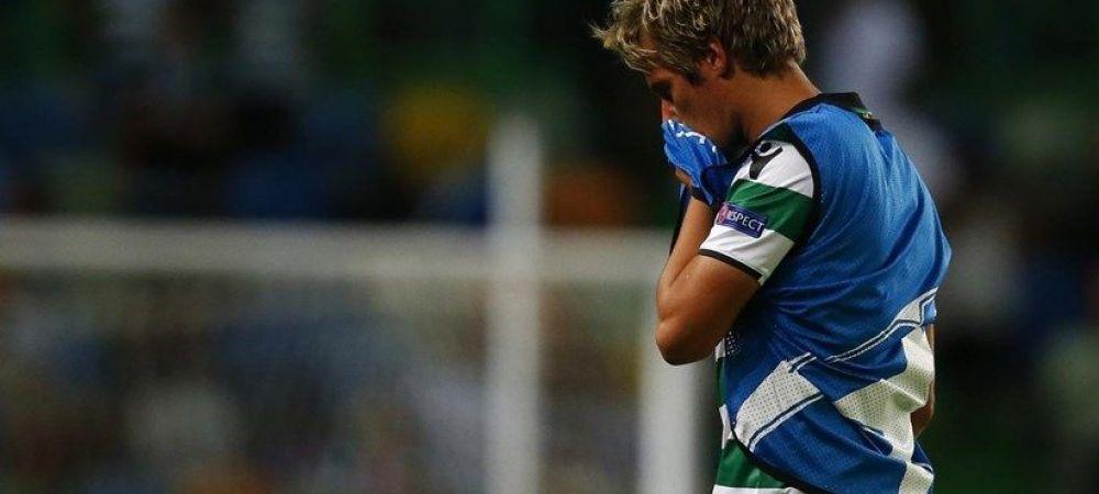 """Efectul """"Enache!"""" Fabio Coentrao, DISTRUS dupa ce a iesit de pe teren! Cum a fost surprins pe banca. FOTO"""