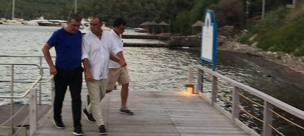 Hagi vrea sa cumpere un club din Turcia! A fost surprins alaturi de Fatih Terim