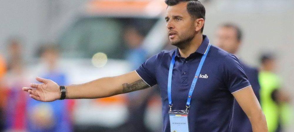 """Dica, NEGRU de suparare dupa meciul cu Juve: """"Nu meritam aceasta victorie!"""" Mesaj dur pentru jucatori"""