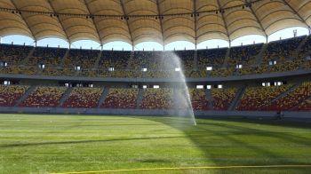 EXCLUSIV: Gazonul e GATA si arata excelent! Primele imagini cu terenul de pe National Arena dupa ce a fost inlocuit in timp RECORD