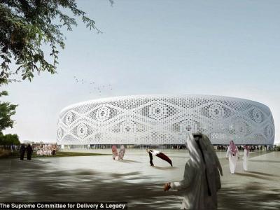 Luxul de pe stadionul arabilor! Cum va arata noua arena pentru Campionatul Mondial din 2022 FOTO
