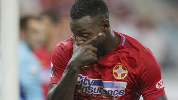 """Gnohere, nemultumit de statutul sau la Steaua: """"Am vorbit cu el, mi-a spus ca e suparat!"""" Anuntul lui Dica"""