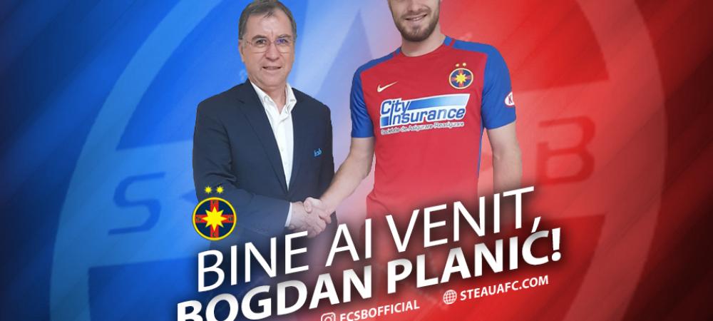 "Steaua a rezolvat azi transferul lui Planici. ""A semnat, doarme in cantonament in acesta seara"""