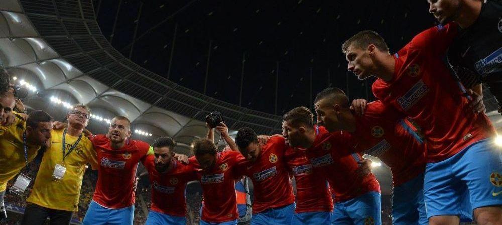 """""""Vaaaaiiiii, ce-am facut?!"""" :)) Cea mai tare imagine de la Steaua - Sporting. Cum a fost surprins Golofca"""