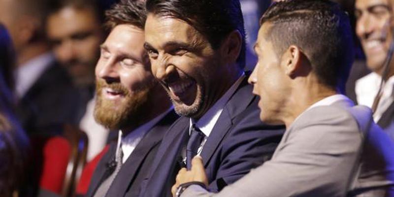Pana si Messi a ras la gluma lui Ronaldo! Ce i-a spus portughezul lui Buffon VIDEO