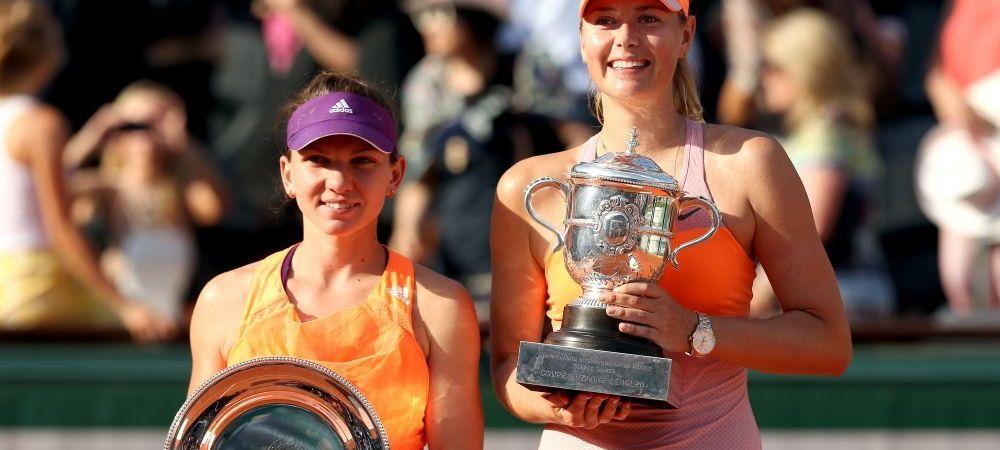 SANSA LA REVANSA! Simona Halep - Maria Sharapova, in turul 1 la US Open! Rusoaica are 6-0 la intalniri directe