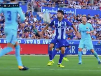 MAGIE: cum sa ingheti mingea intr-o secunda! Baiatul lui Zidane, faza fenomenala in meciul cu Barcelona VIDEO