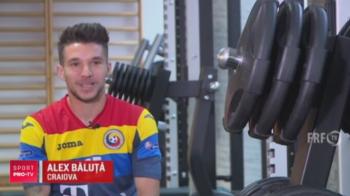 """""""Mertens"""" de Romania viseaza sa-i dea gol lui Neuer! Baluta recunoaste: a vazut primul meci al nationalei cand si-a luat buletinul :)"""