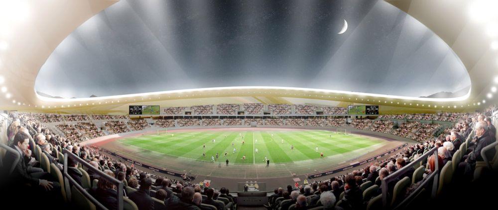 Inca un SUPER STADION de 5 stele in Romania! Va costa 30 de milioane de euro si va avea 15 000 de locuri. Unde se construieste