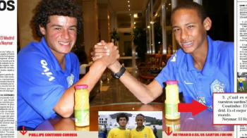 "Imagine monumentala cu Neymar si Coutinho, in 2008: ""Vrem sa jucam amandoi la REAL MADRID!"""