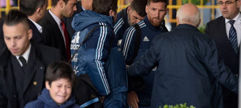 Messi a oferit unui copil o zi de neuitat! Gestul emotionant al argentinianului VIDEO