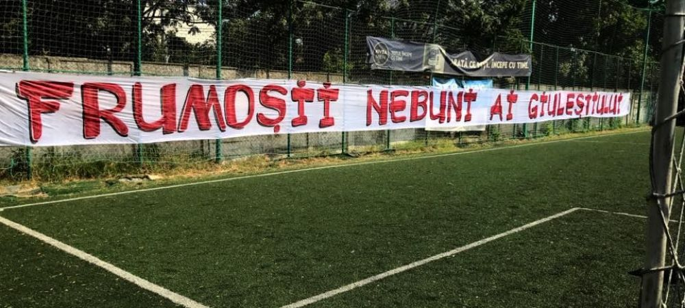Politica fotbalului! Echipa galeriei rapidiste a fost interzisa de AMFB in Liga a 5-a