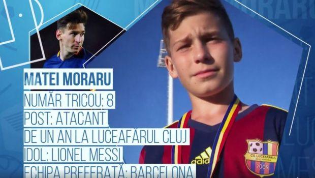 NOUL MESSI e roman, are 12 ani si dribleaza genial cu piciorul drept! Pustiul care va juca pentru Romania la cel mai mare turneu MONDIAL dedicat copiilor