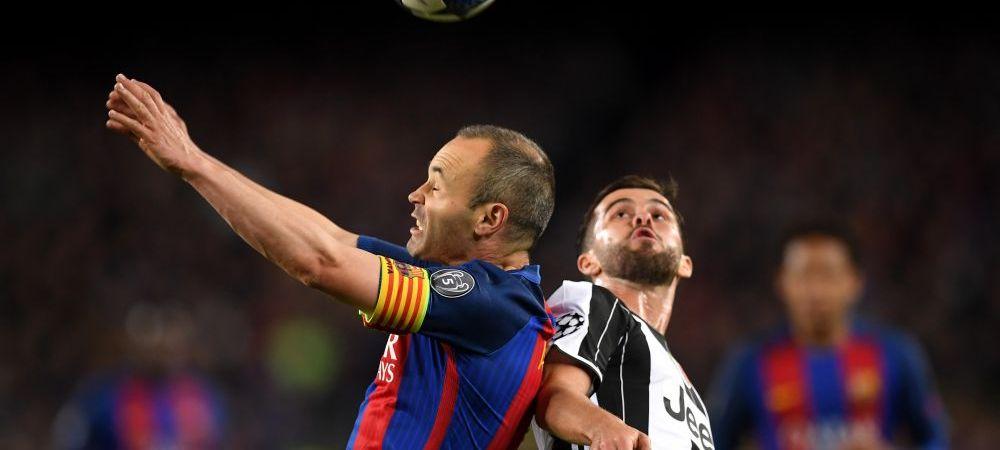Juventus vrea sa-l transfere pe Iniesta. Anuntul facut de presa din Italia