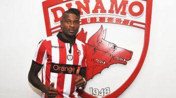OFICIAL | Dinamo l-a prezentat pe Bokila. Atacantul a luat numarul 10, lasat liber de Albin