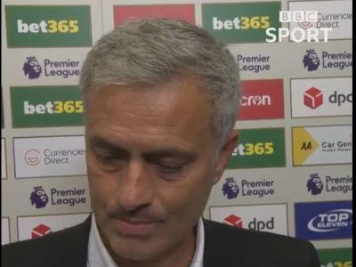 """""""Vreau sa fiu politicos asa ca nu-ti raspund!"""" Mourinho a plecat in mijlocul interviului dupa ce a fost intrebat un singur lucru"""