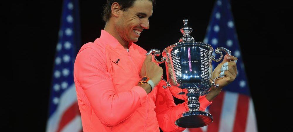 """""""Cat timp voi simti asta, voi juca in continuare!"""" Anuntul facut de Nadal dupa victoria de la US Open! Ce a spus despre recordul lui Federer"""