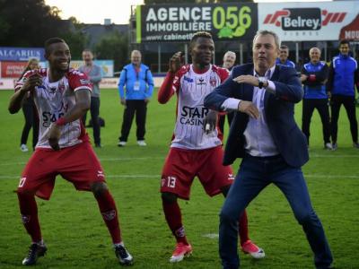 VIDEO GENIAL! Clipul momentului in Belgia. Rednic, DANS NEBUN dupa meci! Ce a facut :))