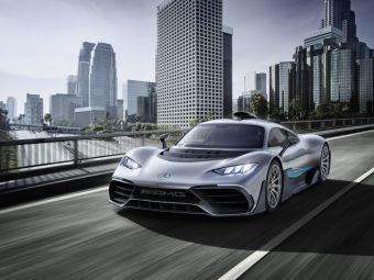 Prima masina de Formula 1 DE STRADA! Mercedes a lansat AMG Project ONE la Frankfurt. FOTO