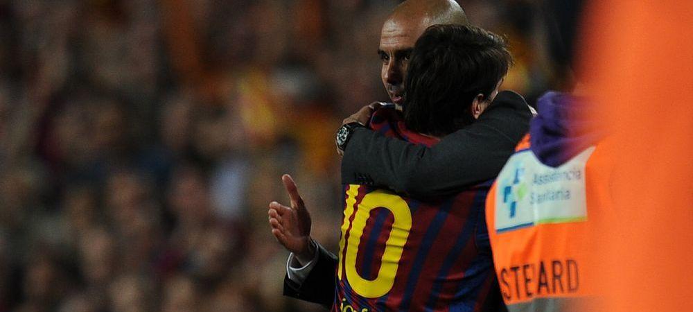 """Declaratia superba a lui Guardiola despre Messi: """"Nimeni nu poate fi la acelasi nivel!"""" Ce a spus despre Mbappe"""