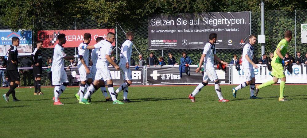 Lugano s-a chinuit cu locul 15 din liga a treia elvetiana: victorie in minutul 93!