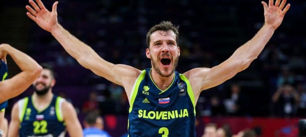 Ce surpriza! Slovenia a castigat pentru prima data Eurobasket, dupa 93-85 in finala cu Serbia