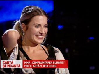 O fosta campioana la karate a urcat pe scena de la Vocea Romaniei. Cum a reactionat Smiley cand a aflat cu ce se ocupa: VIDEO