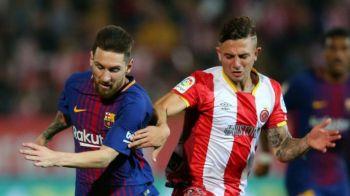 """""""Bai, tu ai venit de la City, nu?!"""" Dialogul avut de Messi cu un adversar la meciul Girona - Barcelona"""