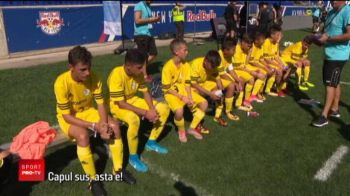 VIDEO Golul noului Hagi, cea mai frumoasa amintire la Danone Nations Cup 2017. Romanii au terminat pe locul 4 la New York