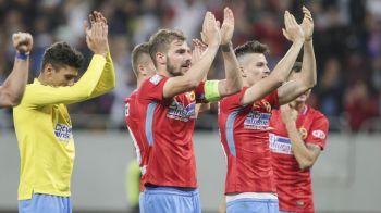 ISTORIC! Steaua se riDICA in varful Europei! Echipa lui Dica este pe locul 7, la egalitate cu FC Barcelona, si peste Real Madrid si Bayern la posesie