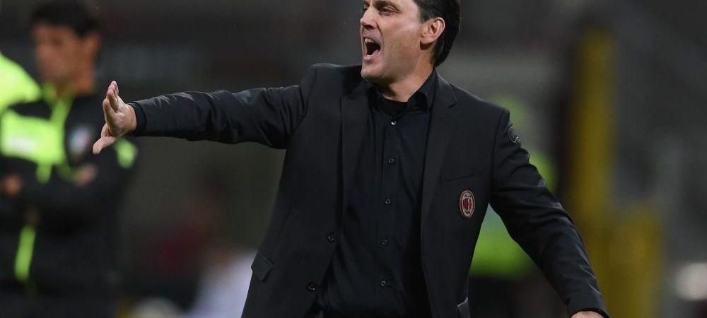 AC Milan, la un pas sa-si dea afara antrenorul dupa doar 8 etape! Surpriza uriasa a miliardarilor: pe cine pot aduce in locul lui Montella