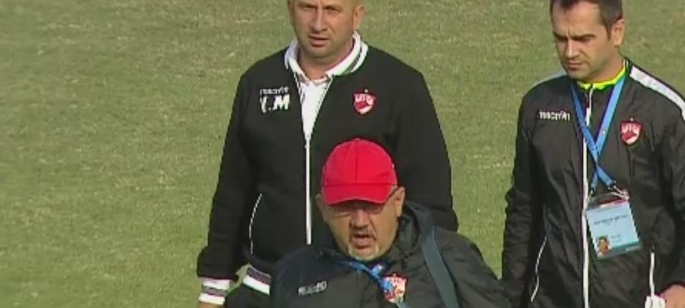 """Prima reactie a lui Miriuta dupa a doua infrangere pe banca lui Dinamo: """"E mult de munca"""". Rivaldinho, singurul care mai crede in TITLU"""