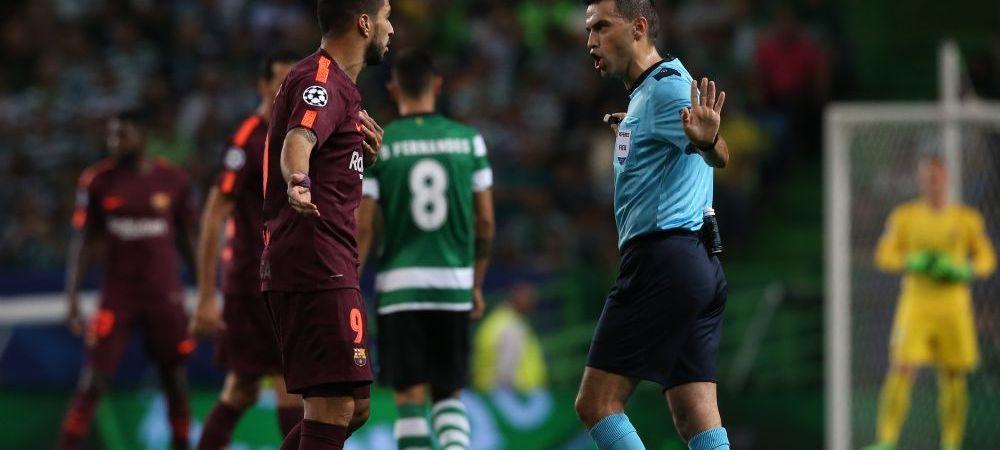 """Hategan, pus la zid de antrenorul lui Sporting dupa meciul cu Barcelona: """"De ce a facut asta?!"""" Ce i-a reprosat"""