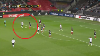 LORDUL s-a intors! Bendtner, assist genial in Europa League: danezul a dat si un gol pentru Rosenborg | VIDEO