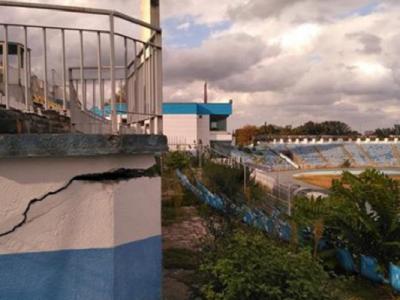 Ce gluma de explicatie! Care ar fi motivul pentru care stadionul Farul nu a fost modernizat pana acum! Arena e o ruina pe care nu se pot juca nici macar meciuri de Liga 3