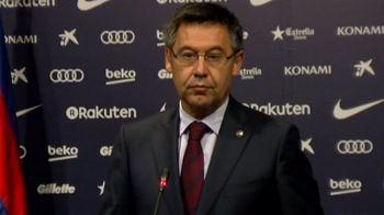 GREVA la Barcelona in urma incidentelor de la referendum! Presedintele Barcei a vorbit despre MUTAREA echipei din Spania
