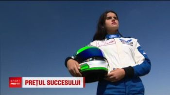 Fata carea vrea sa duca numele Romaniei in F1 n-are carnet! :) Povestea ei e senzationala