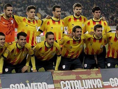Spania vs. Catalonia! Cum ar arata nationala de fotbal a catalanilor in cazul declararii independentei